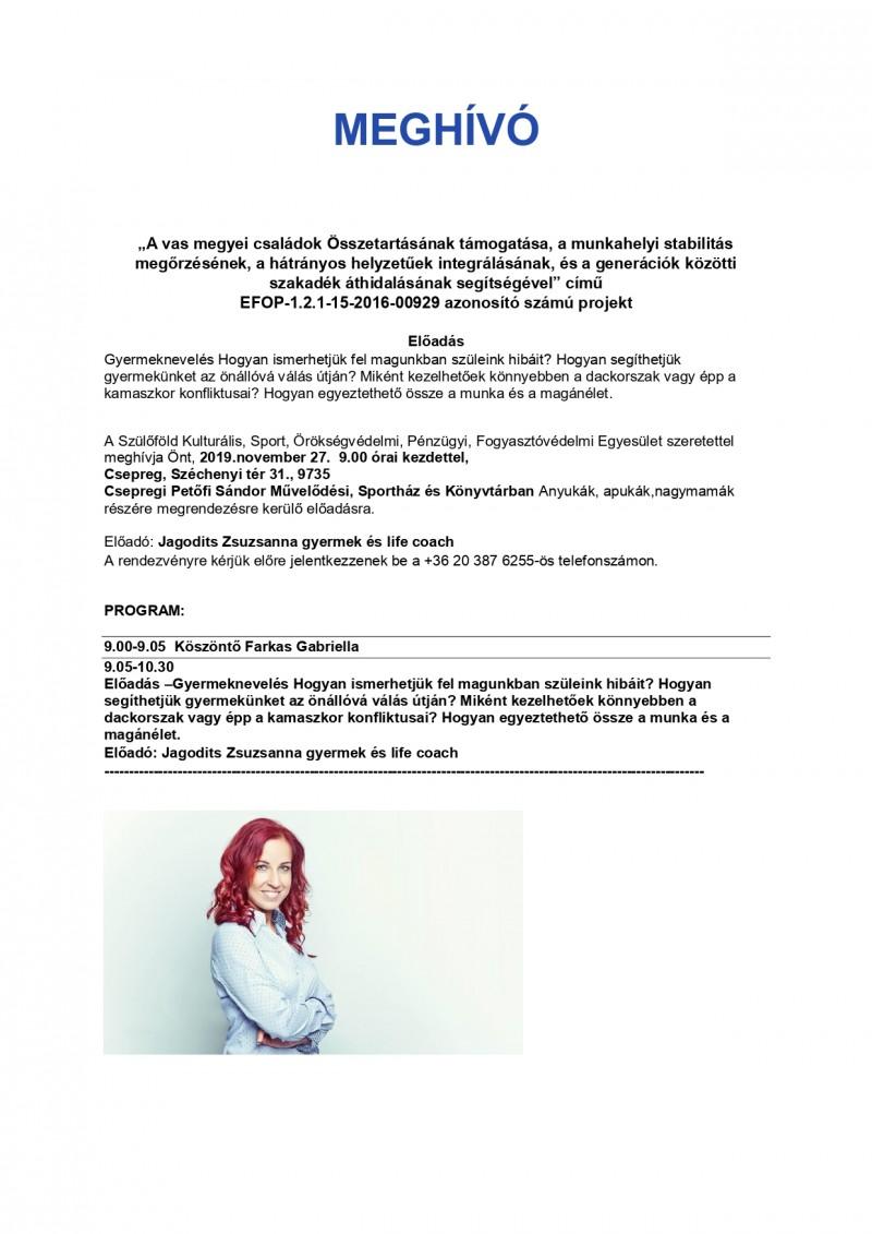 Jagodits Zsuzsanna gyermek és life coach