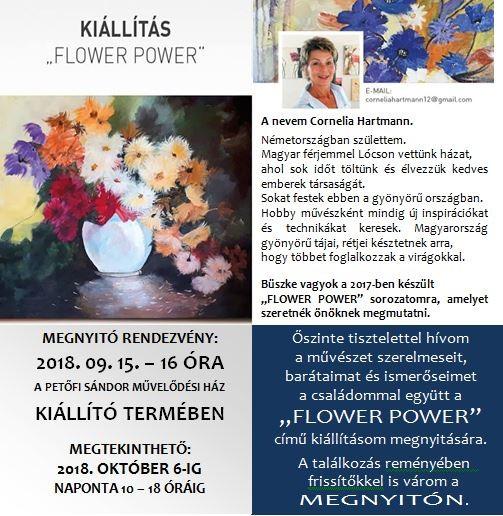 Cornelia Hartmann - FLOWER POWER
