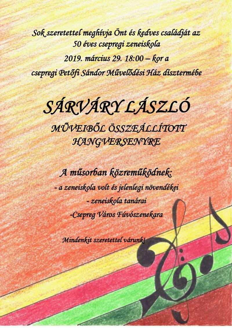 50 éves a csepregi zeneiskola